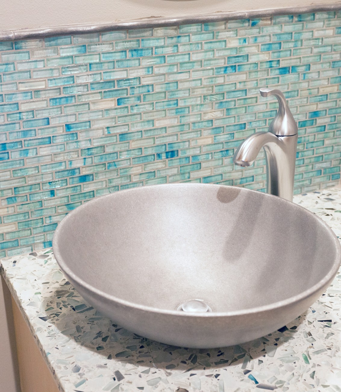 Recycled Glass Tile Gallery | Eco-Friendly Flooring