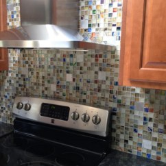 Used Kitchen Cabinets Dallas Tx Thermofoil Recycled Glass Tile Gallery | Eco-friendly Flooring
