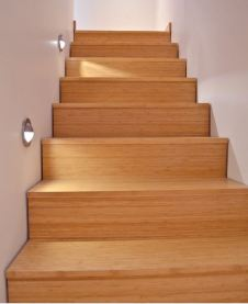 We have bamboo for stairs and risers