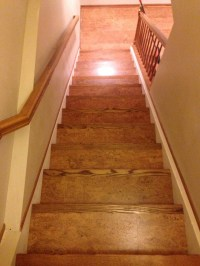 Corkifying your Stair case - Eco-Friendly Flooring