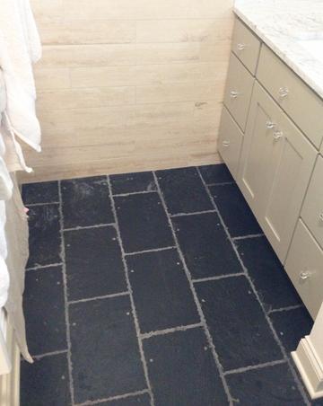 Roofing Slates for your Floor  EcoFriendly Flooring