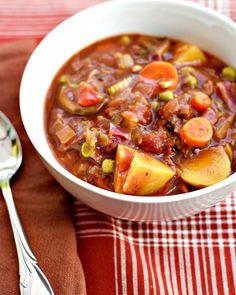 make soup to eat more veggies