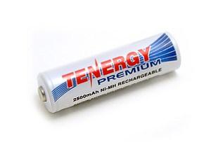 Tenergy Rechargeable AA Battery