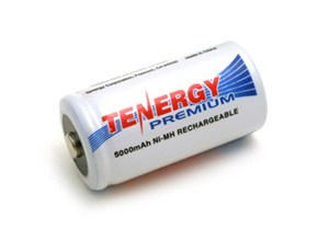 Tenergy Rechargeable C Battery