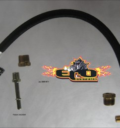 eco inst 006 5 16 quick disconnect kit for 5 16 fuel line on ford chrysler s nissan s toyota s ford s 7 3 powerstrokes connection at fuel rails  [ 2182 x 1706 Pixel ]