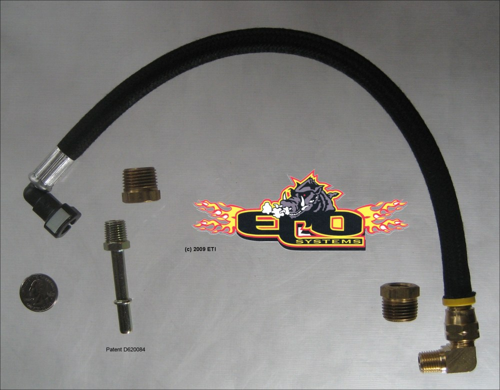 medium resolution of eco inst 006 5 16 quick disconnect kit for 5 16 fuel line on ford chrysler s nissan s toyota s ford s 7 3 powerstrokes connection at fuel rails