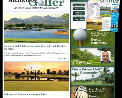 Arizona Golfer News