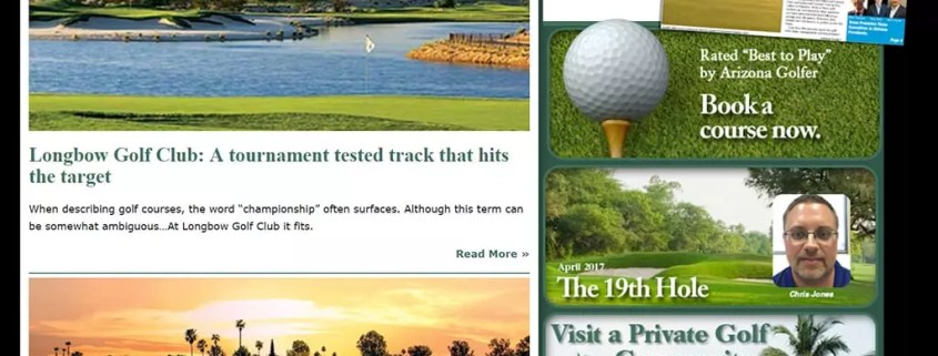 Arizona Golfer News