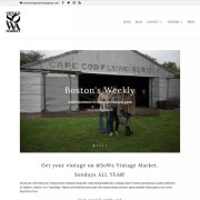 SoWa Vintage Market Website