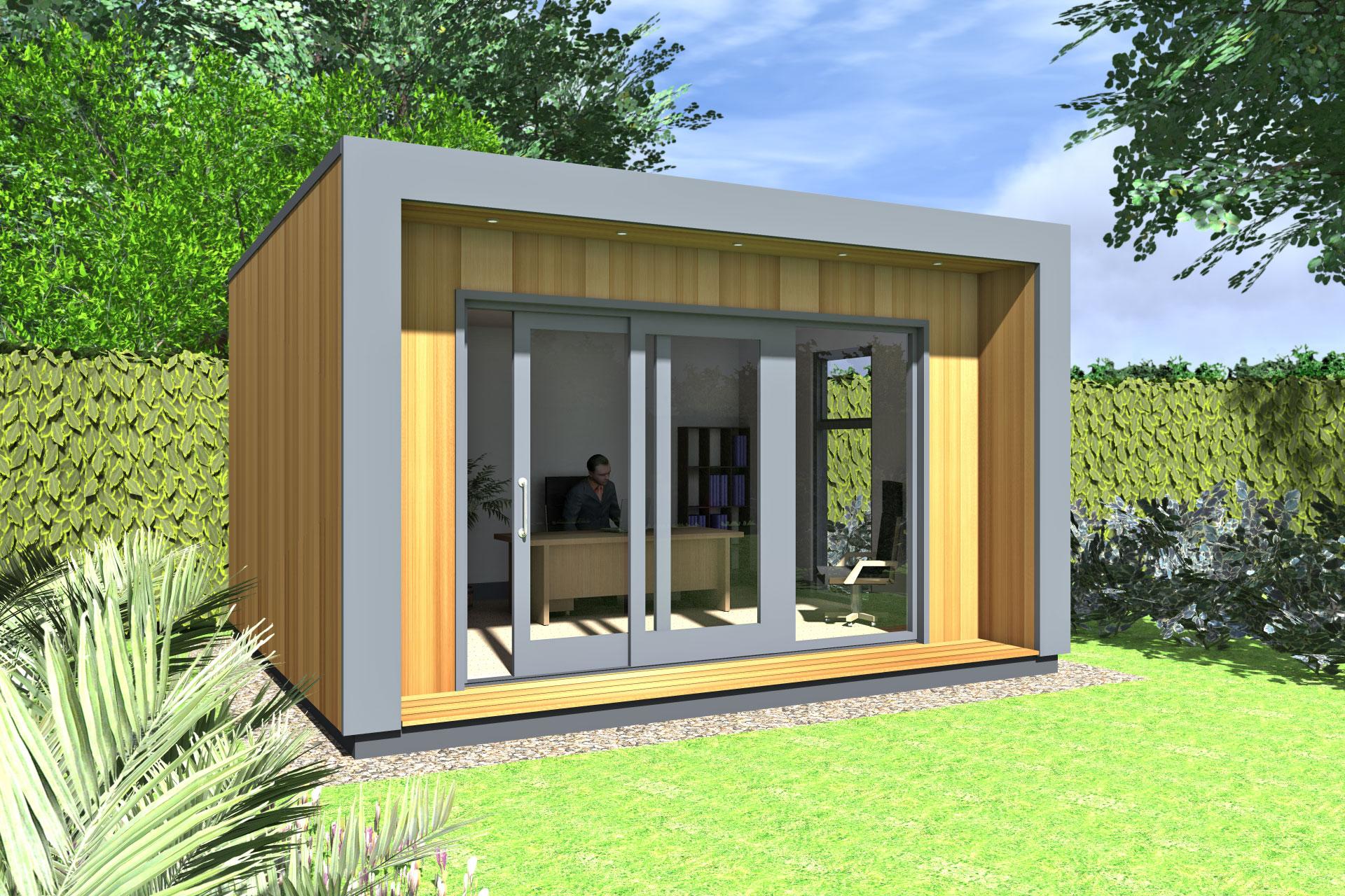 Office Pods Ideas Gallery Garden Office Ideas Gallery ECOS Ireland