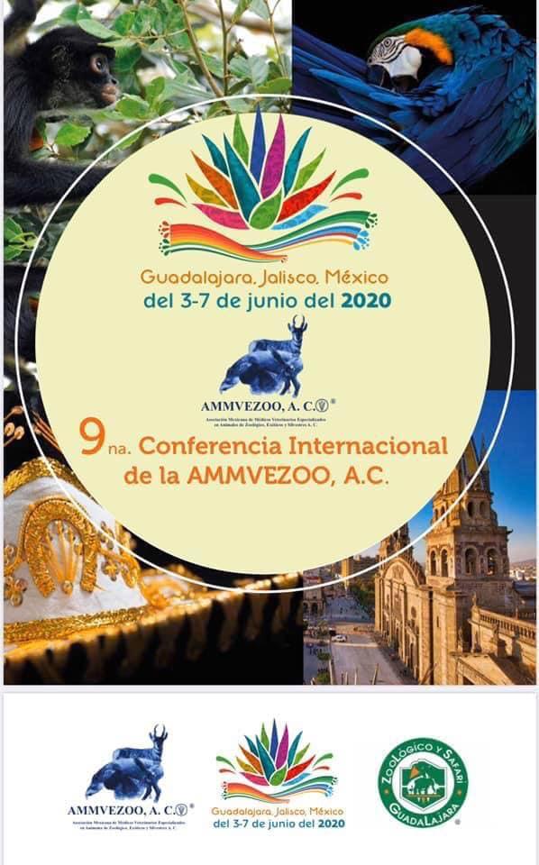 Anuncio conferencia AMMVEZOO México