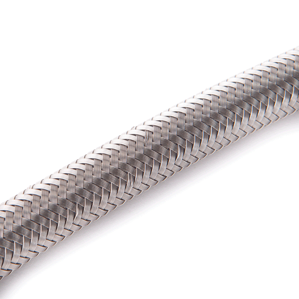 Build-Your-Own 3/8″ Stainless Steel Braided Hose