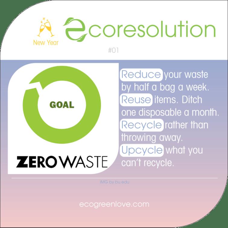 Eco resolutions (Zero Waste) | ecogreenlove