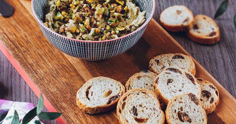 Paté de pistachos