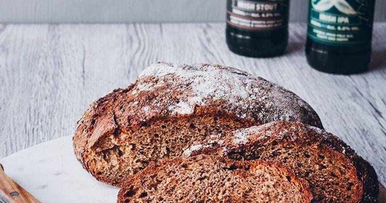 Pan de cerveza y miel