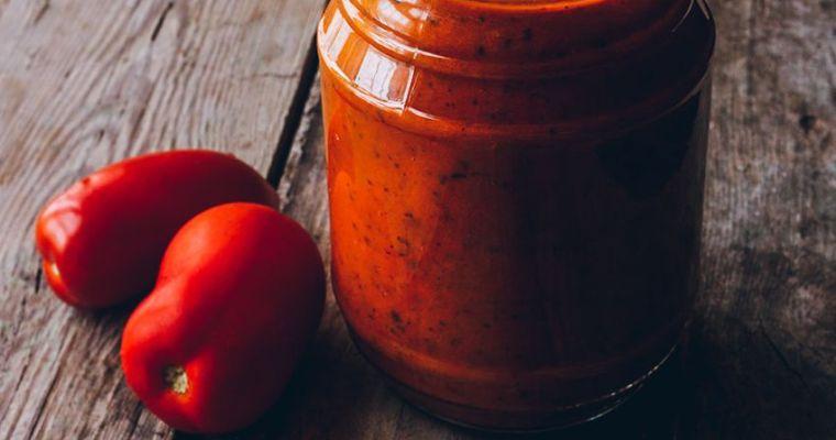 Mi receta favorita de salsa de tomate casera