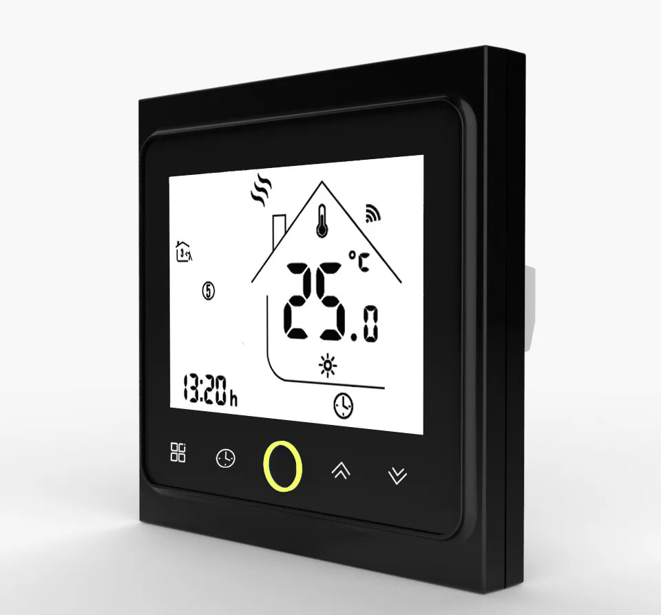 Smart Heating Controller Switch Black
