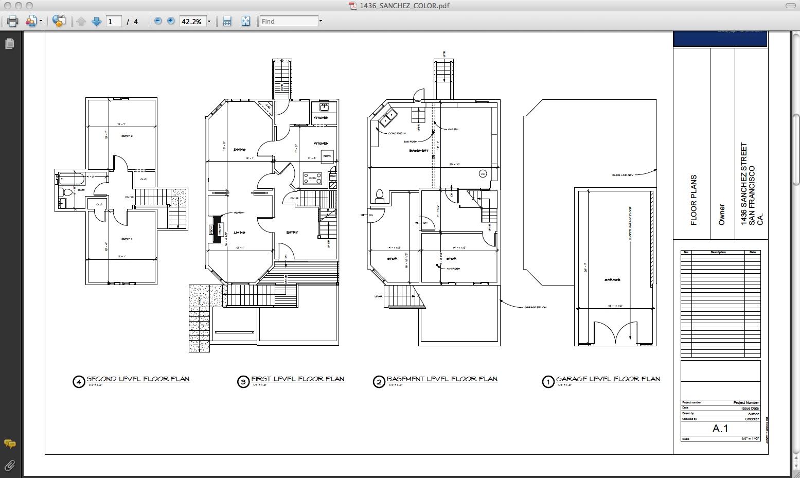 Mark Twain House Floor Plan