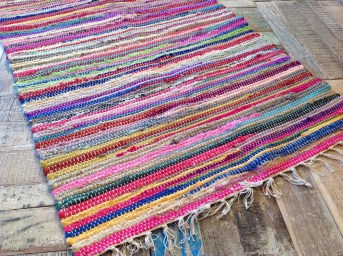 Recycled rug available from www.secondnatureonline.co.uk