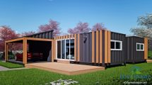Sch19 2 12m X 3.4m Shipping Container Granny Flats Eco