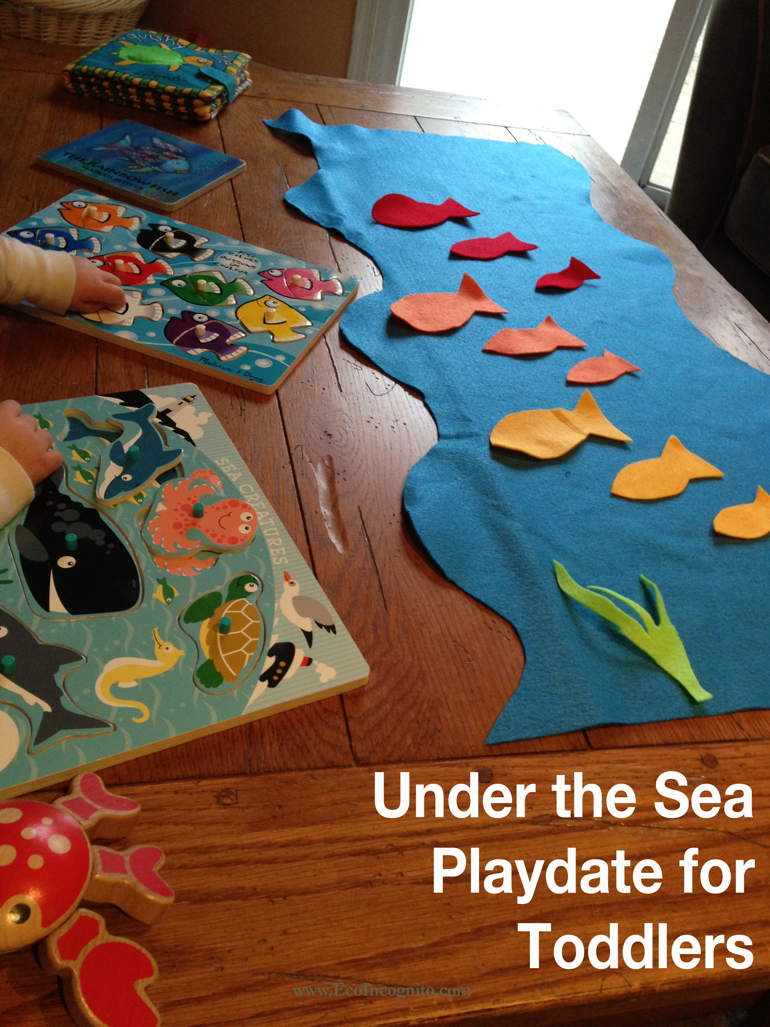 Fish Inspired Toddler Activity Eco Blog