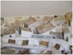 i tetti di via leonina con rampicante (guttuso)