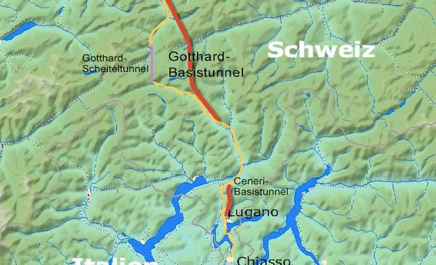 Accordo italo-svizzero per le infrastrutture ferroviarie