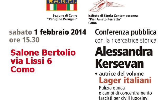 Lucini nega la sala/ Alessandra Kersevan parlerà nel Salone Bertolio