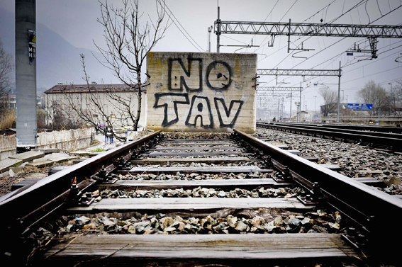 Resistenza popolare/ No Tav a Moltrasio