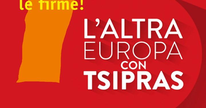 La sinistra c'è/ A Como 1453 firme per L'altra Europa