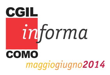 Cgil In-forma news maggio-giugno 2014