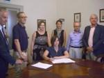 Firma contratto  Cruyff Court-Borgonovo 2