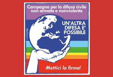 9 maggio/ A La Feltrinelli  per la difesa nonviolenta e non armata