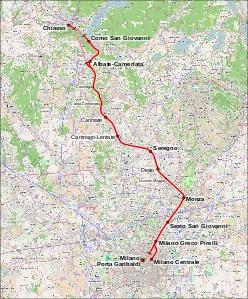 Cambiano gli orari sulla Milano-Chiasso
