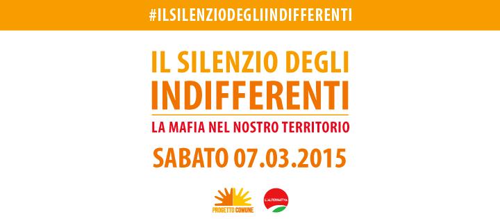 7 marzo/ Il silenzio degli indifferenti a Cadorago