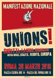Alba/ Adesione alla manifestazione del 28 marzo verso la coalizione sociale