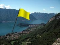 9 aprile/ Bandiera gialla in Tremezzina