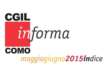 Cgil In-forma news/ maggio-giugno 2015
