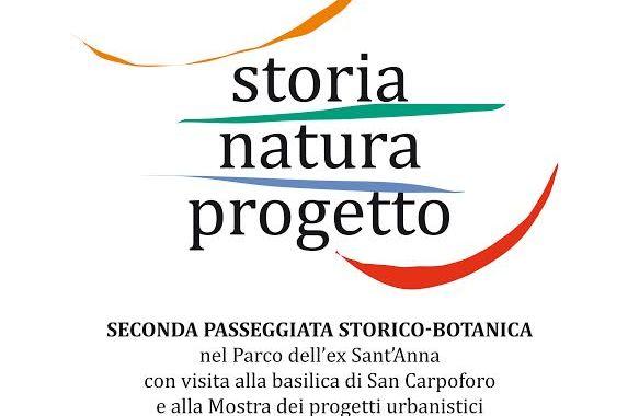 14 giugno/ Seconda passeggiata storico-botanica nel parco del Sant'Anna