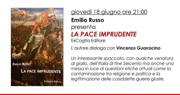 18 giugno/ La pace imprudente a la Feltrinelli di Como alle 21