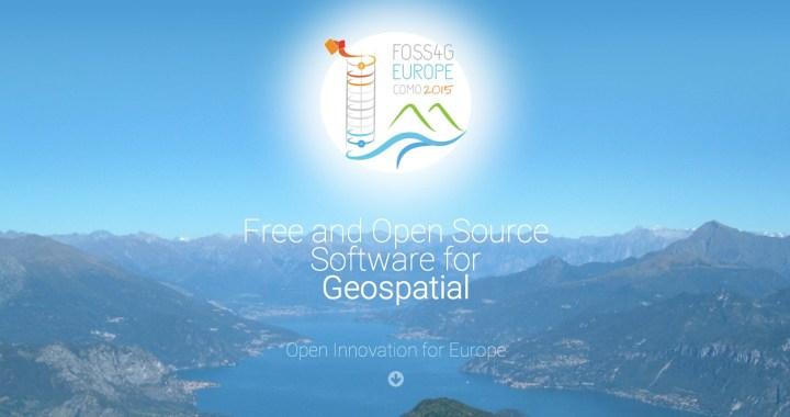 15-17 luglio/ Seconda edizione Free and Open Source Software for Geospatial (Foss4g) Europe