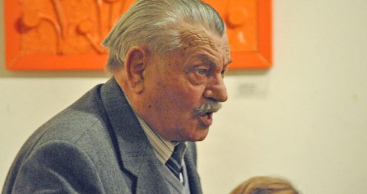 Festa a Olgiate per Ernesto Maltecca e il racconto della sua vita
