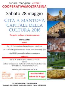 Gita a Mantova Moltrasina locandina
