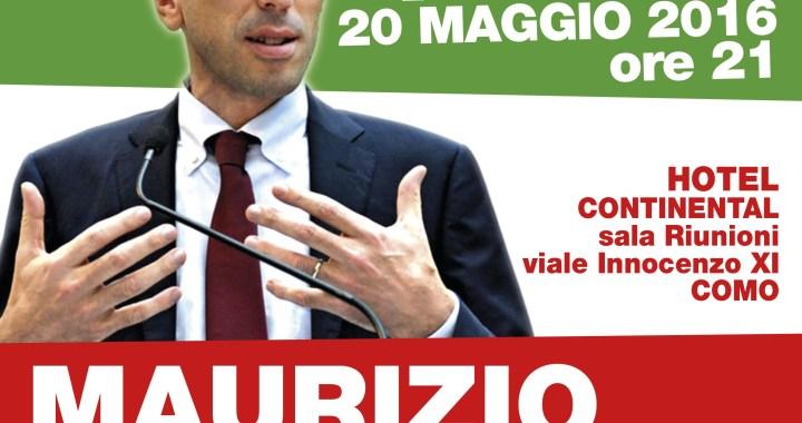 20 maggio/ Le ragioni del sì con Maurizio Martina