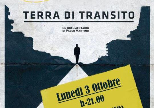 3 ottobre/ Giornata nazionale in memoria delle vittime dell'immigrazione/ Terra di transito all'Astra