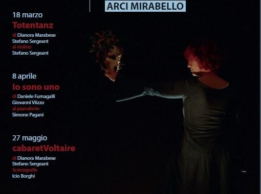 18 marzo, 8 aprile e 27 maggio/ Rassegna teatrale a Mirabello