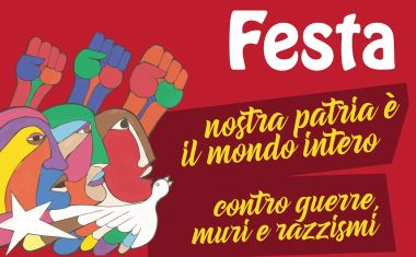 Maurizio Acerbo alla Festa popolare del Prc
