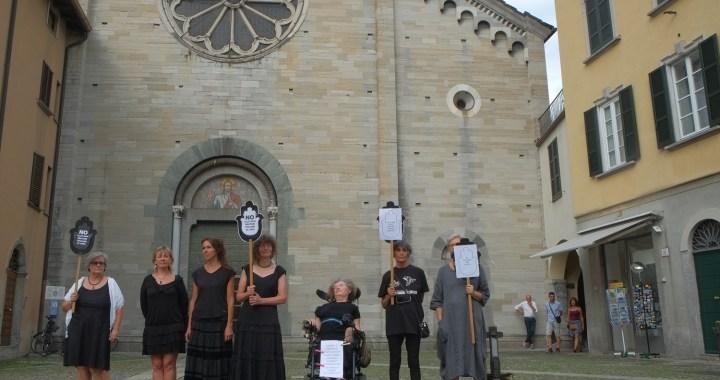 Non in nostro nome/ Le Donne in nero contro la militarizzazione del Mediterraneo