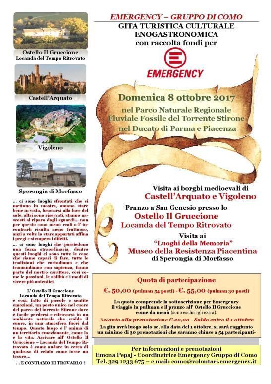 Gita Emergency Como