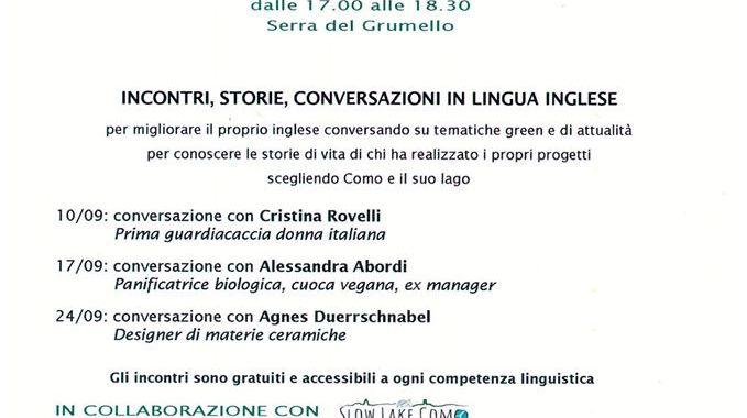 24 settembre/ Villa del Grumello/ Incontri e racconti/ Giornata botanica